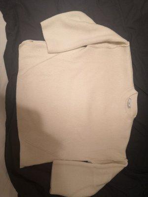 Mango Sweter oversize kremowy-jasnobeżowy