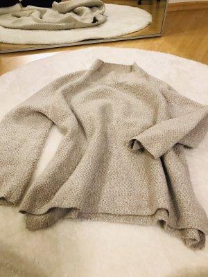 Mango Jersey largo gris claro
