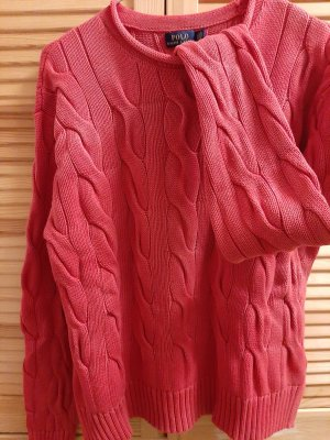 Ralph Lauren Cable Sweater brick red