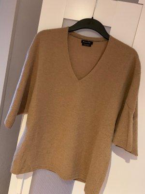 Massimo Dutti Cashmere Jumper sand brown cashmere