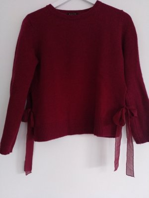 Massimo Dutti Wool Sweater purple