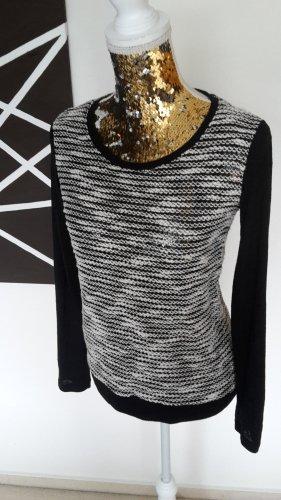 Mavi Maglione lavorato a maglia bianco-nero