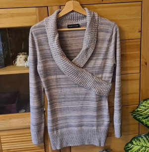 Melrose V-Neck Sweater silver-colored-rose-gold-coloured