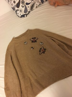 H&M Pull oversize chameau