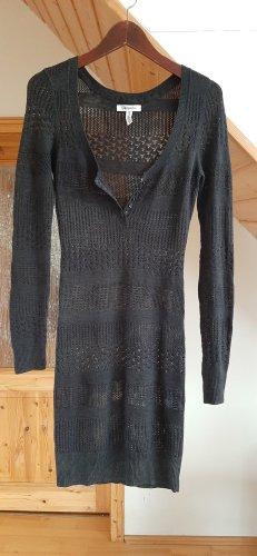 pullover mini/midi kleid
