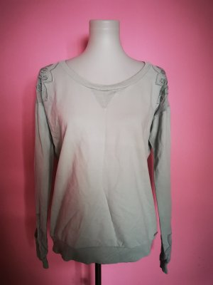 Pullover, Mint, Spitze (T 4)