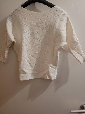 Orsay Maglione a maniche corte bianco-crema