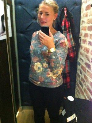 Pullover mit All-Over Blumenprint