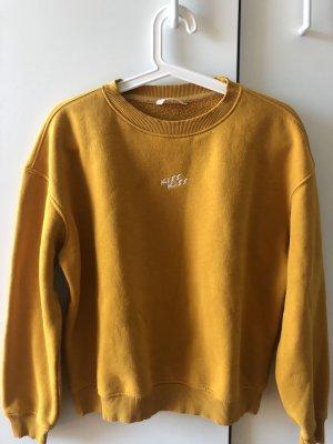 Review Maglione oversize arancione chiaro-giallo-oro