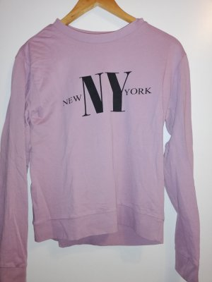 H&M Divided Sweater Twin Set grey lilac-mauve