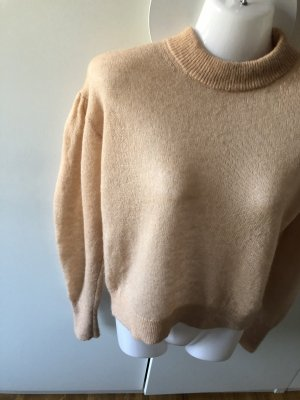 & other stories Kraagloze sweater nude Mohair