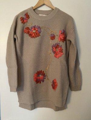 Pullover mit Bestickung