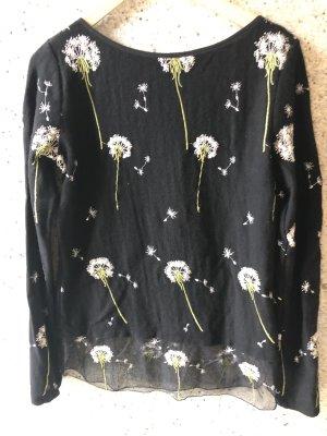 Pullover mit Blumen Blugirl