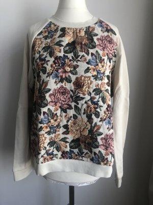 Pullover mit Blumenprint | Bunt