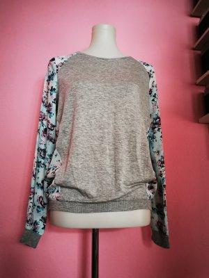 Laura Scott Polarowy sweter Wielokolorowy Tkanina z mieszanych włókien
