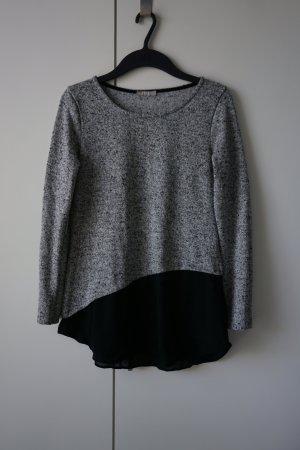 Pullover mit Blusendetail