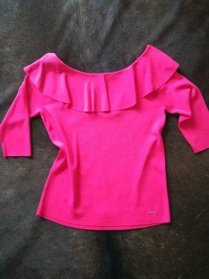 Pullover mit Carmen-Ausschnitt von Taifun in pink