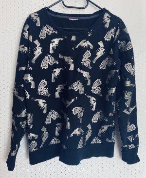 Pullover mit coolem Pistolen Design