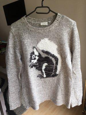 Pullover mit Eichhörnchen und Glitzersterne