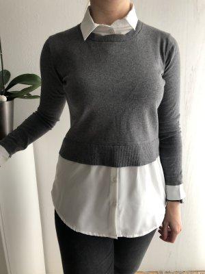 Pullover mit eingenähter Bluse von Hallhuber