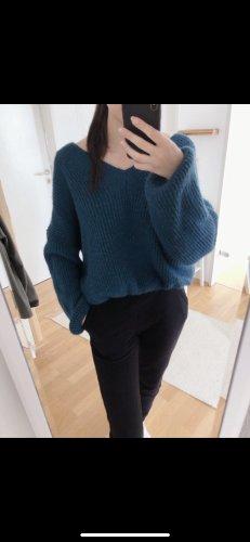 Pullover mit elastischen Bündchen