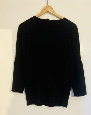 Pullover mit eleganter Seidenschleife