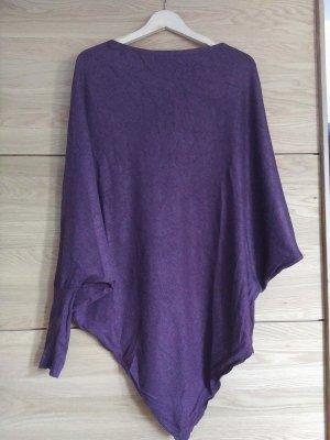 Pullover mit Fledermaus-Ärmeln