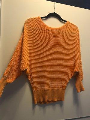 NA-KD Pull à gosses mailles orange clair-orange