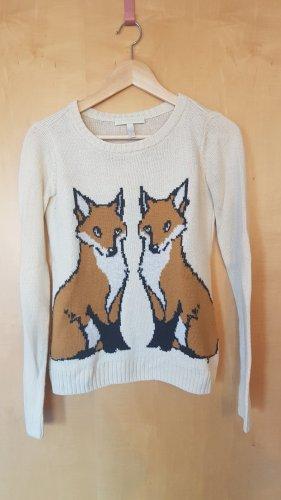 Pullover mit Füchsen