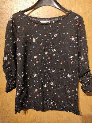 Pullover mit Galaxymuster Größe 34