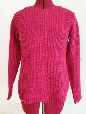 Tkmaxx Crewneck Sweater magenta cotton