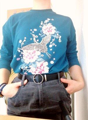 Pullover mit gesticktem Muster