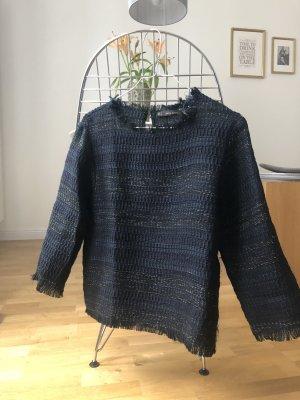 Pullover mit Glanzfäden ZARA Größe S