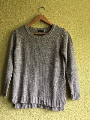 Yessica Szydełkowany sweter jasnoszary