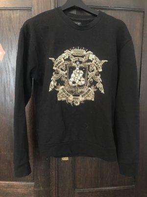 Pullover mit Golddetails