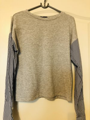 Pullover mit Hemd Ärmel
