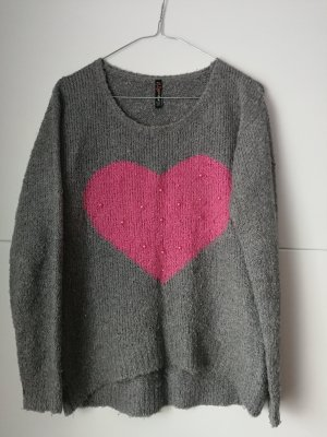 Pullover mit Herz XS