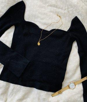 Pullover mit Herzausschnitt Kaschmir XS 34 36