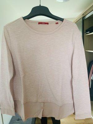 s.Oliver Maglione twin set rosa