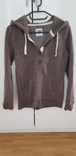 Clockhouse Hooded Sweatshirt brown polyester