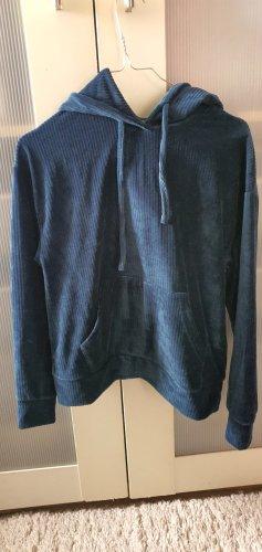Hooded Shirt dark blue-petrol