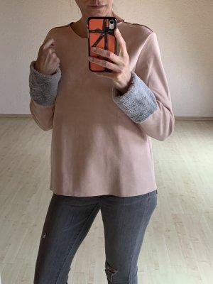 Pullover mit kuscheligen Arm