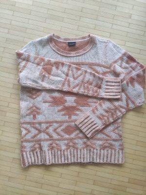 Pullover mit lässigem Muster