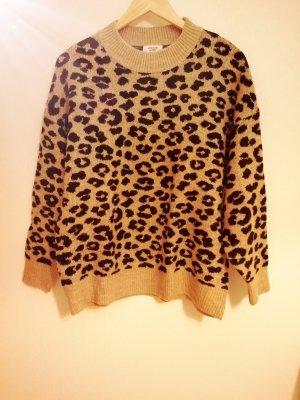 Pullover mit Leo-Optik