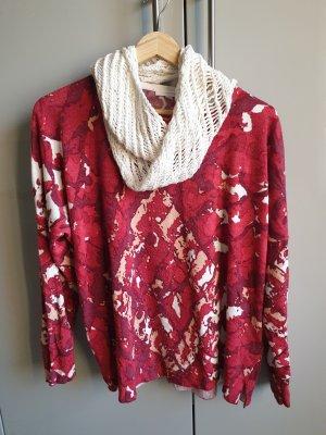 Charles Vögele Crewneck Sweater natural white-brick red