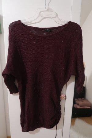 Ann Christine Knitted Sweater dark violet