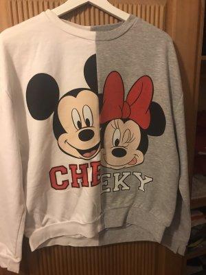 Pullover mit Mini und miki Maus