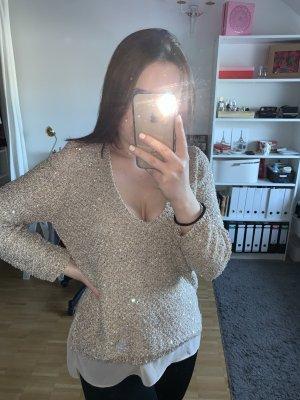 Pullover mit Pailletten