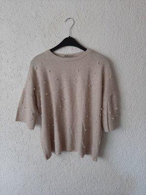 Pullover mit Paillettenkugeln