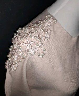 Pullover mit Perlen Gr. L